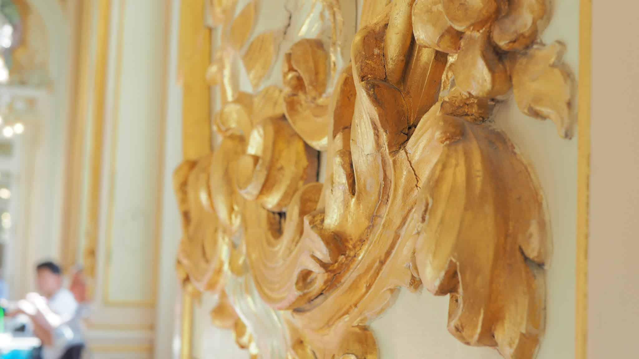 Gold Leaf Detailing