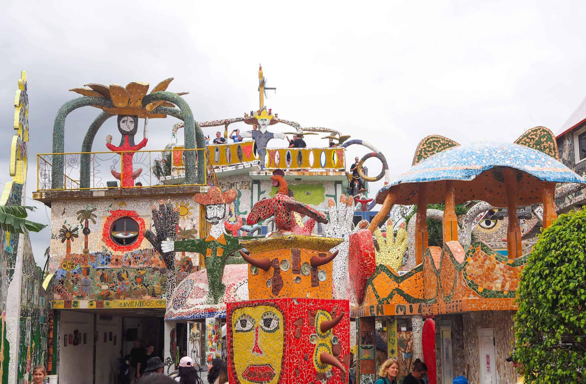 Fusterlandia: Cuban Mosaic Art Installation