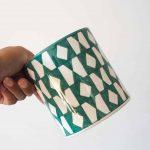 green-pattern-plant-pot