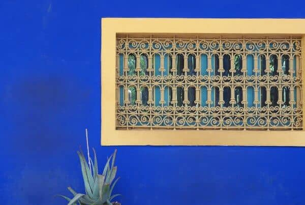 majorelle-blue-wall