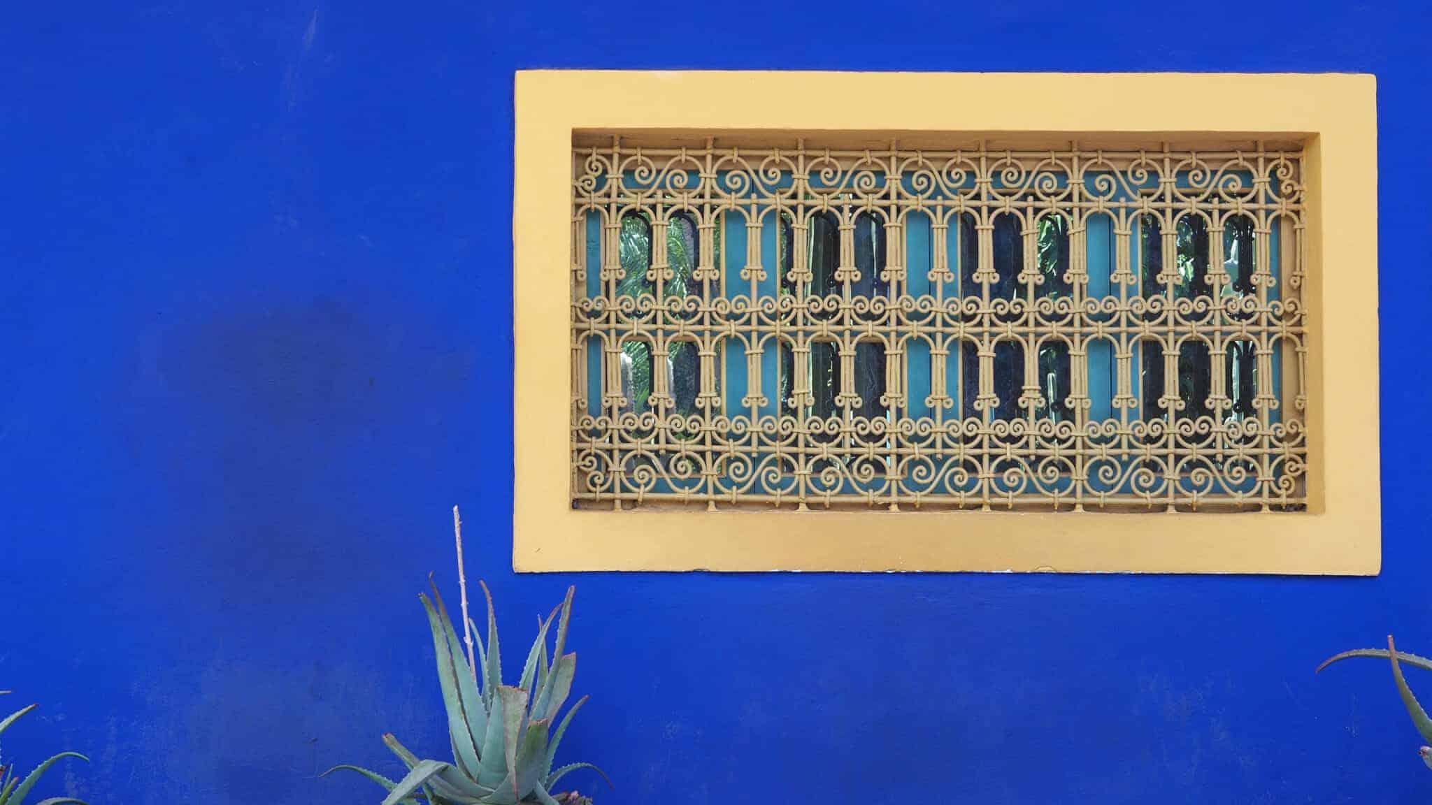majorelle-blue-wall