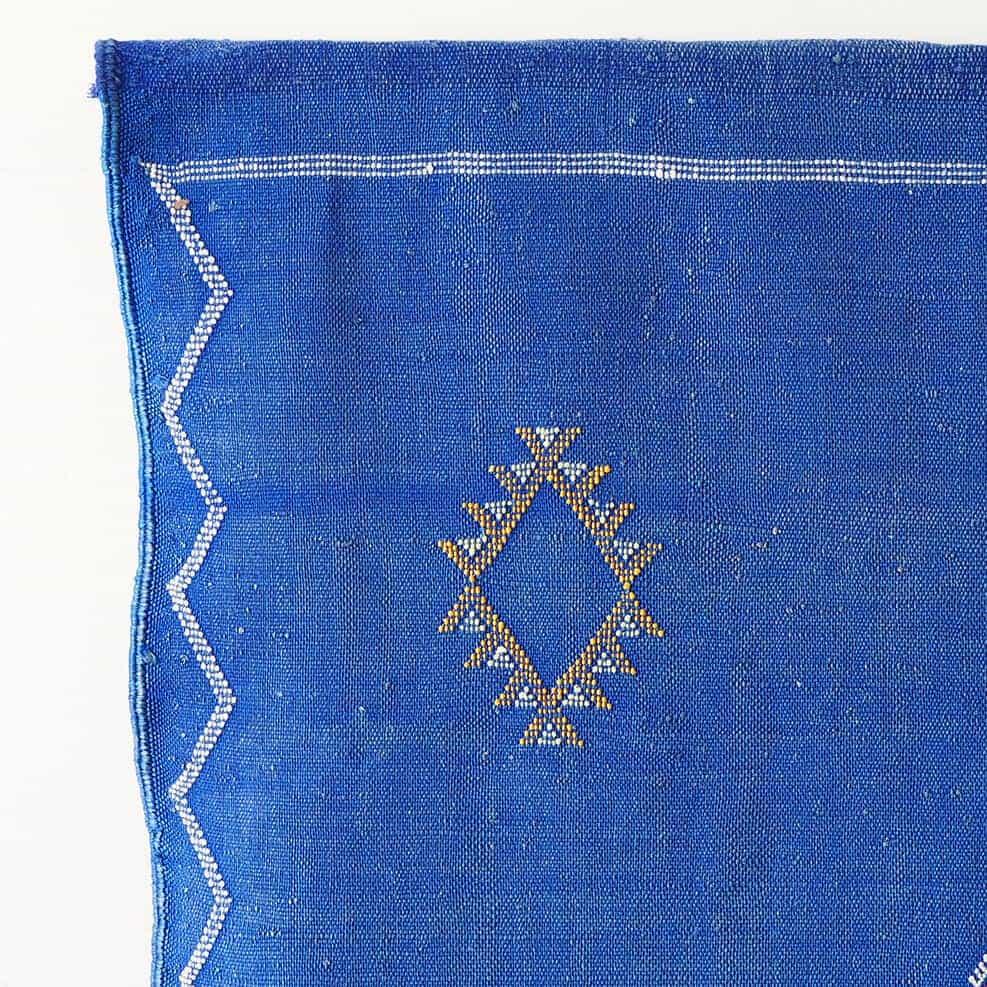 Vintage Moroccan Sabra Rug – Blue