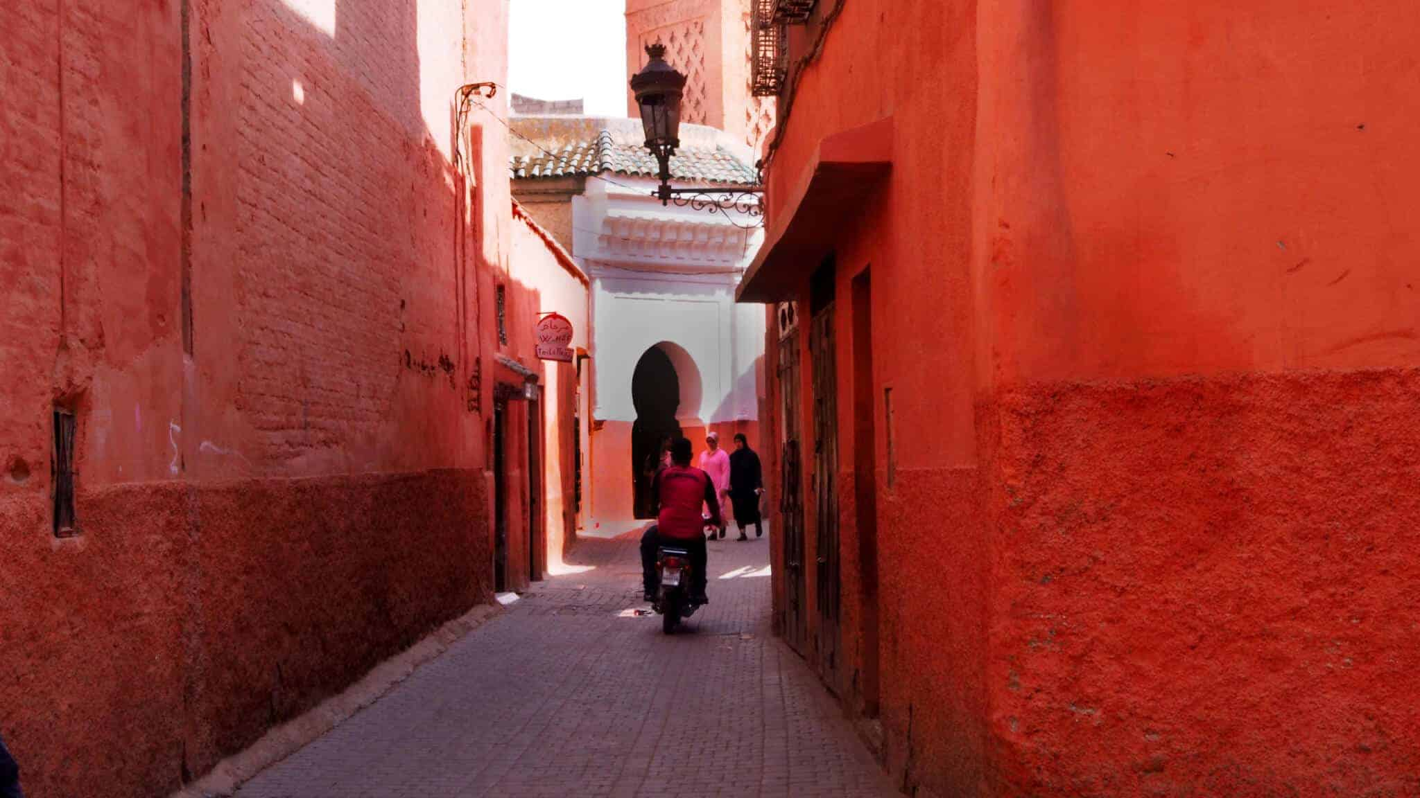 backstreets of marrakech