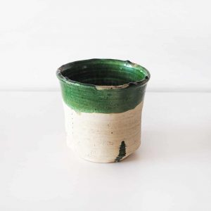 DIPPED-GREEN-VASE