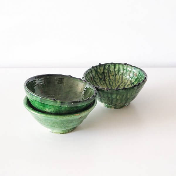 tamegroute green bowls