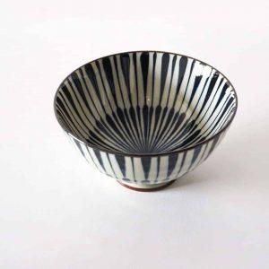 Blue patterned ceramic bowls