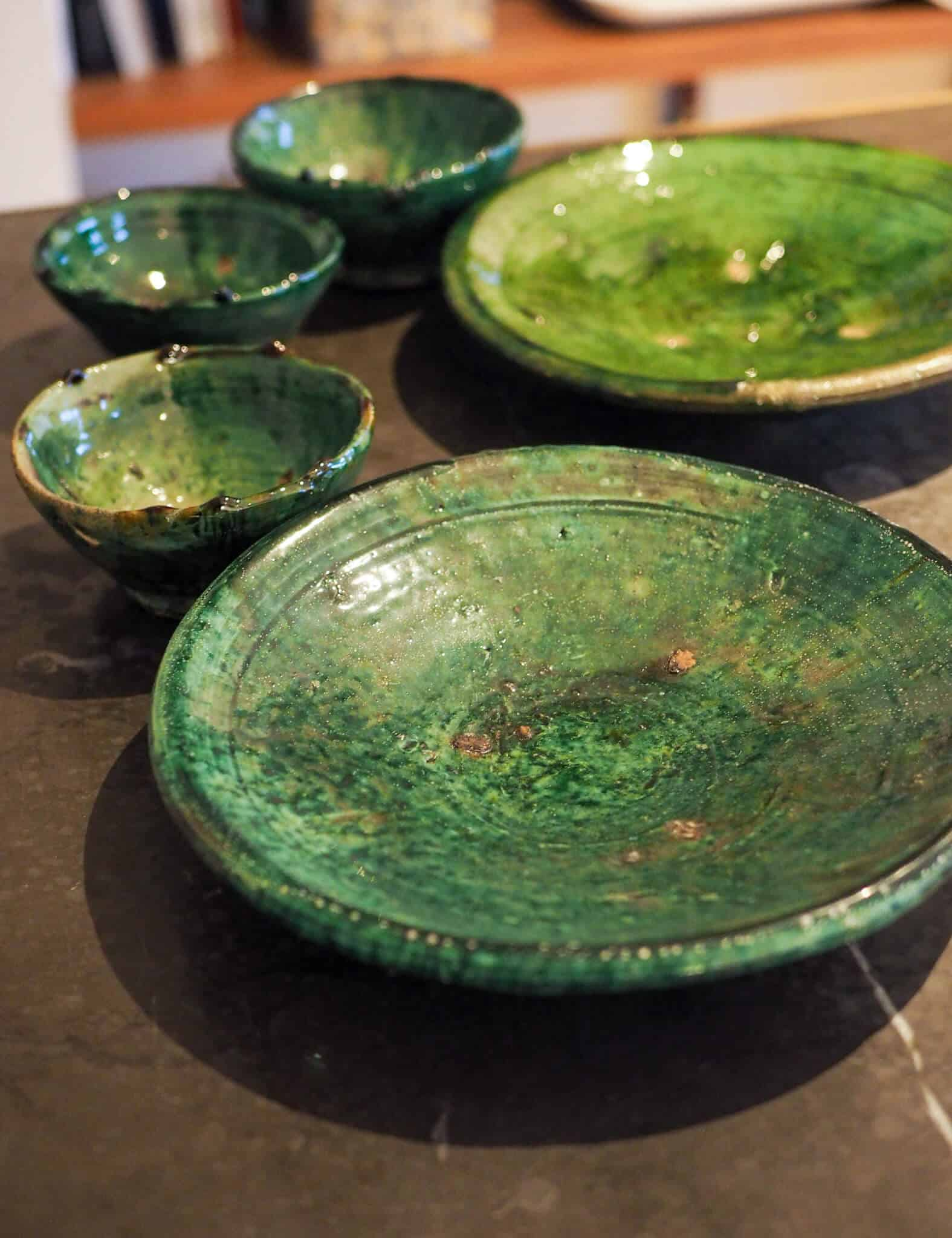 Tamegroute plate collection