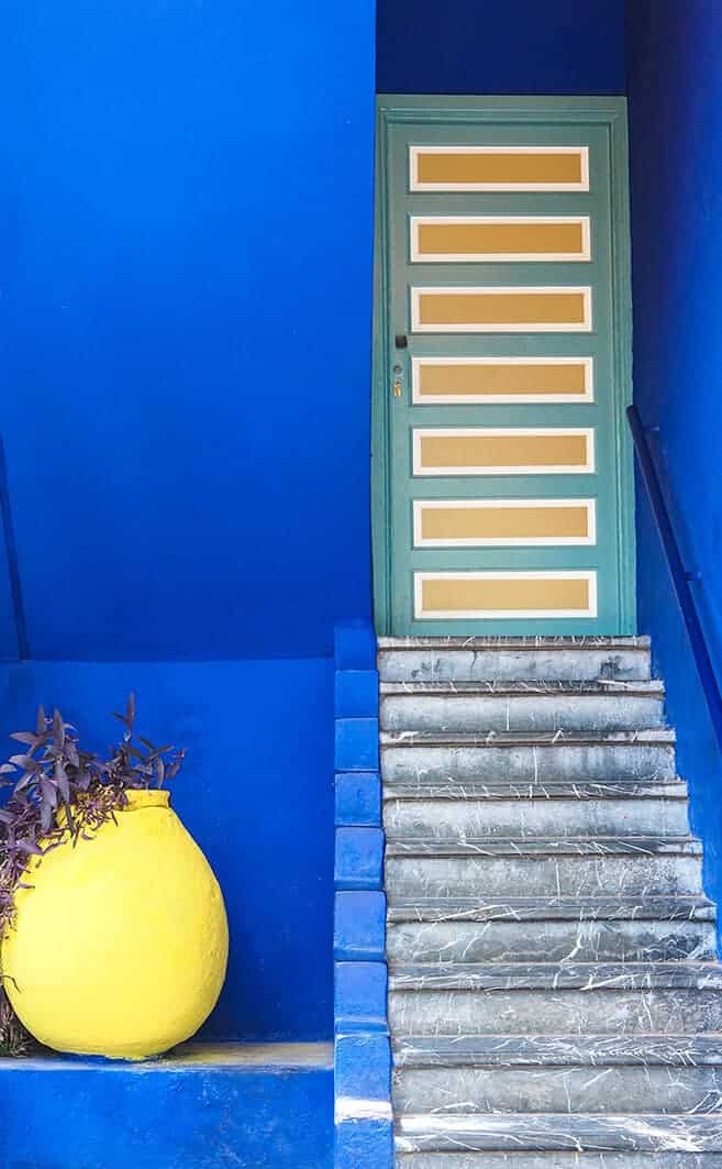 majorelle villa steps