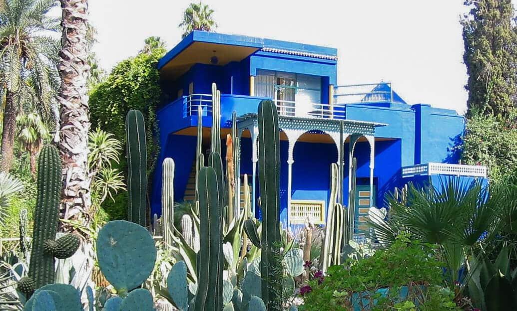 majorelle gardens villa