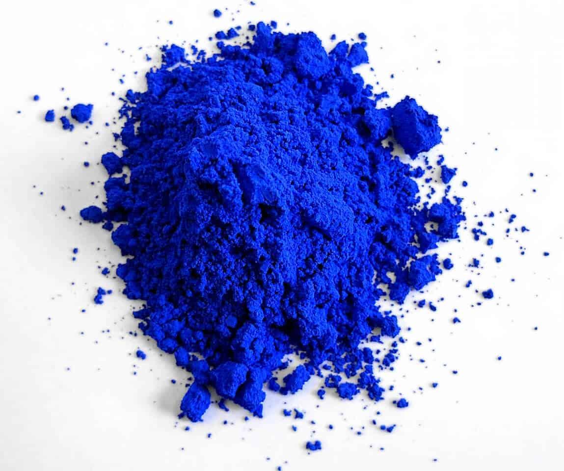ysl blue pigment