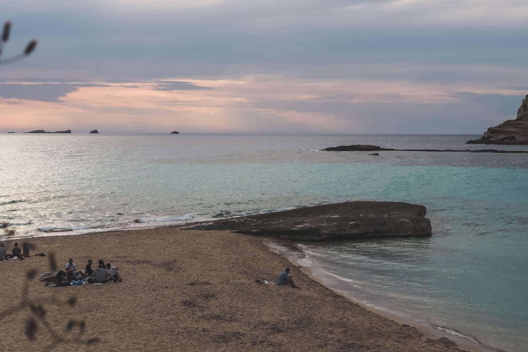ibiza natural beach