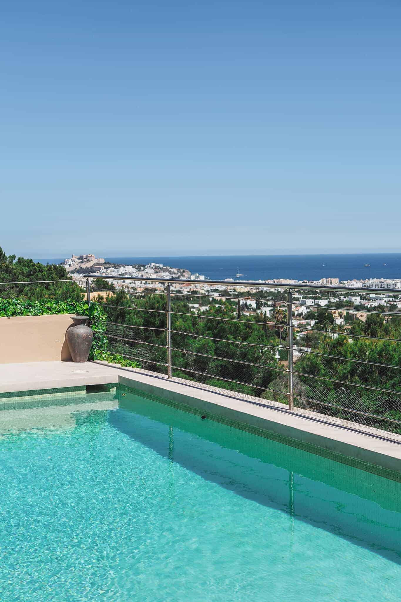 Ibiza villa pool