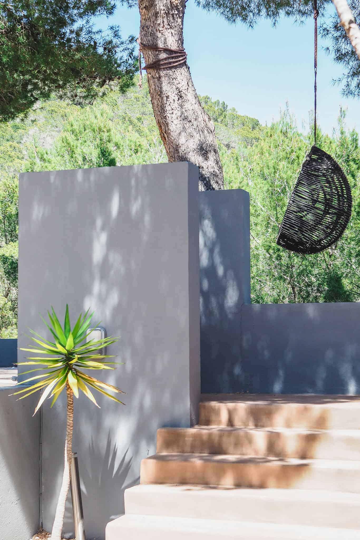 ibiza villa-entrance