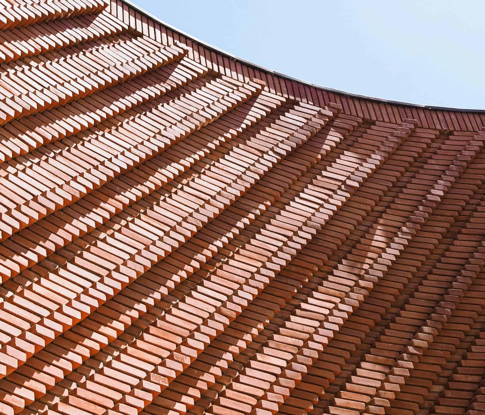 ysl museum brick walls