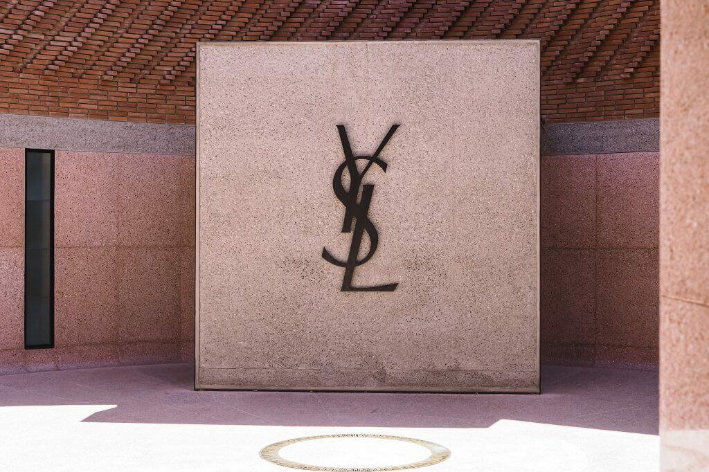 ysl museum courtyard