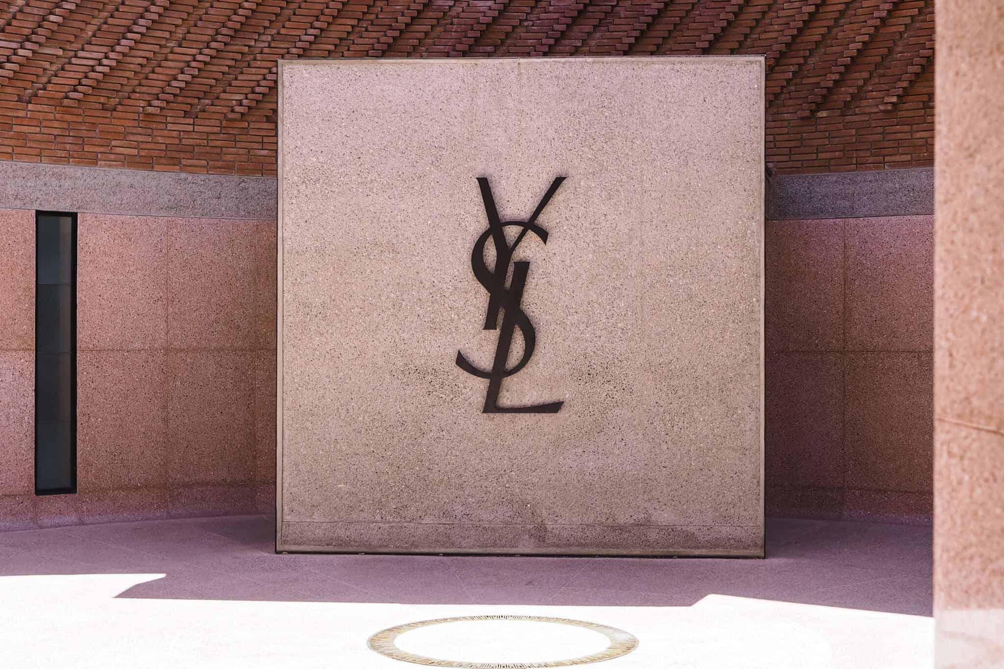 ysl museum courtyard