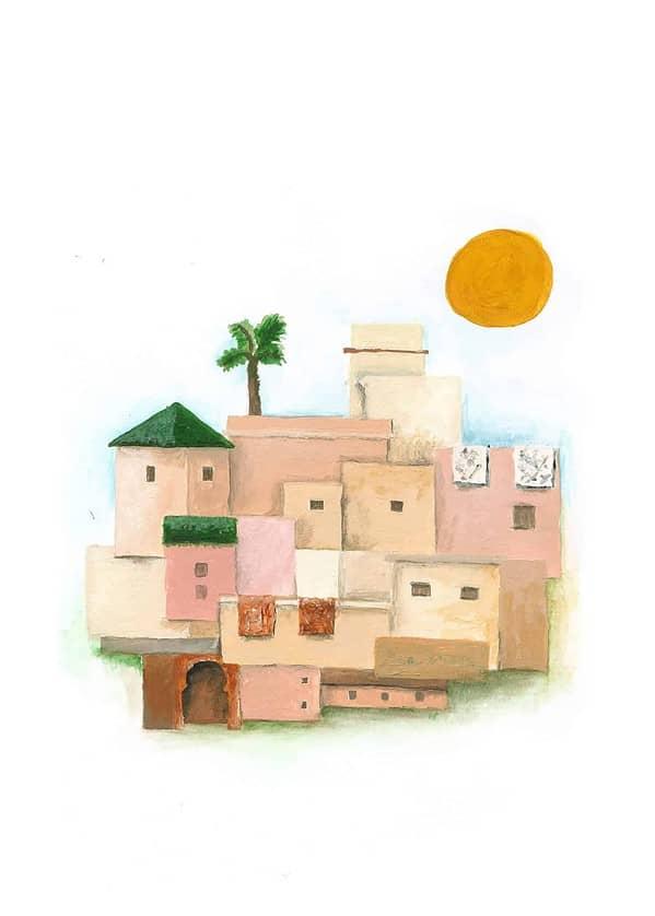 the medina full painting