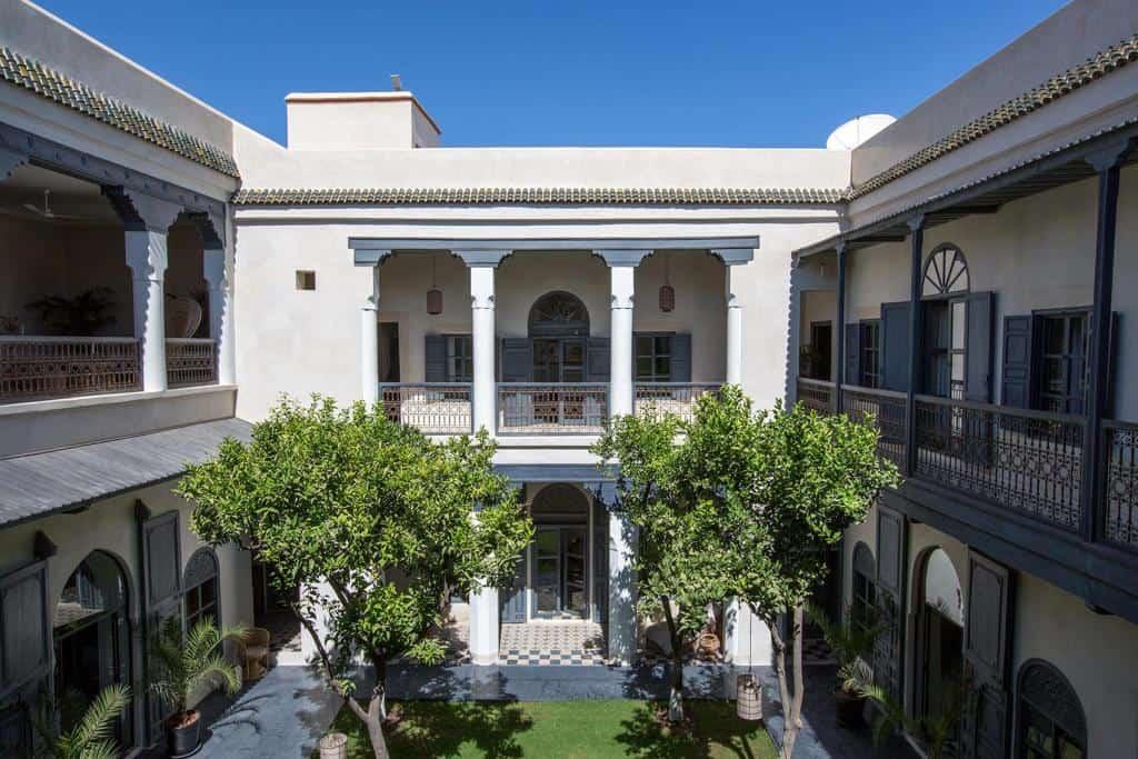 Riad Tarabel courtyard