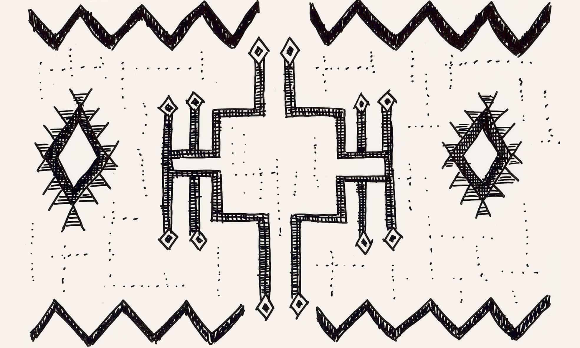 Tribal pattern, We Are Nomads
