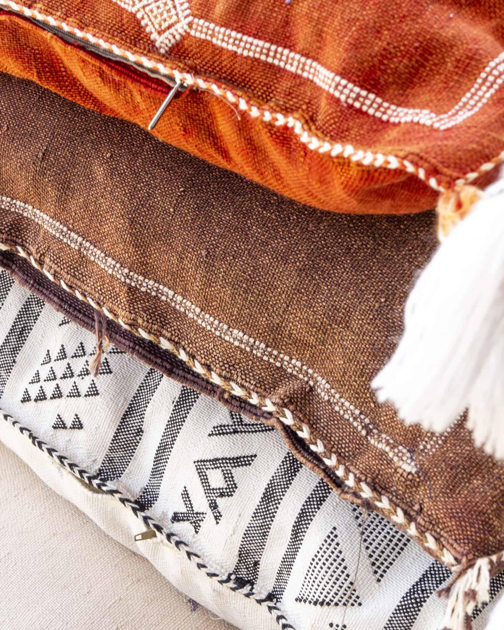 sabra silk cushions