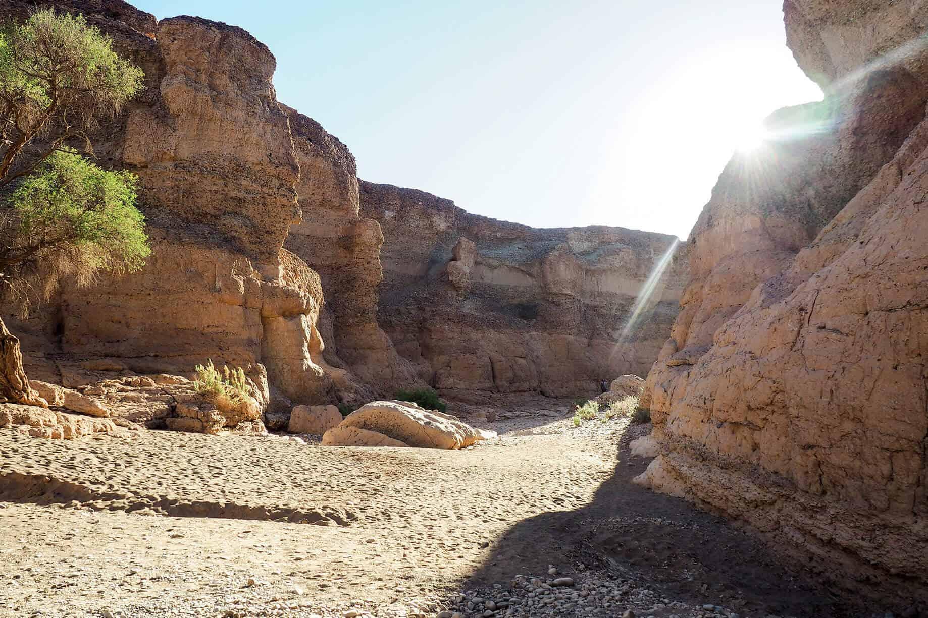 sesriem canyon walk