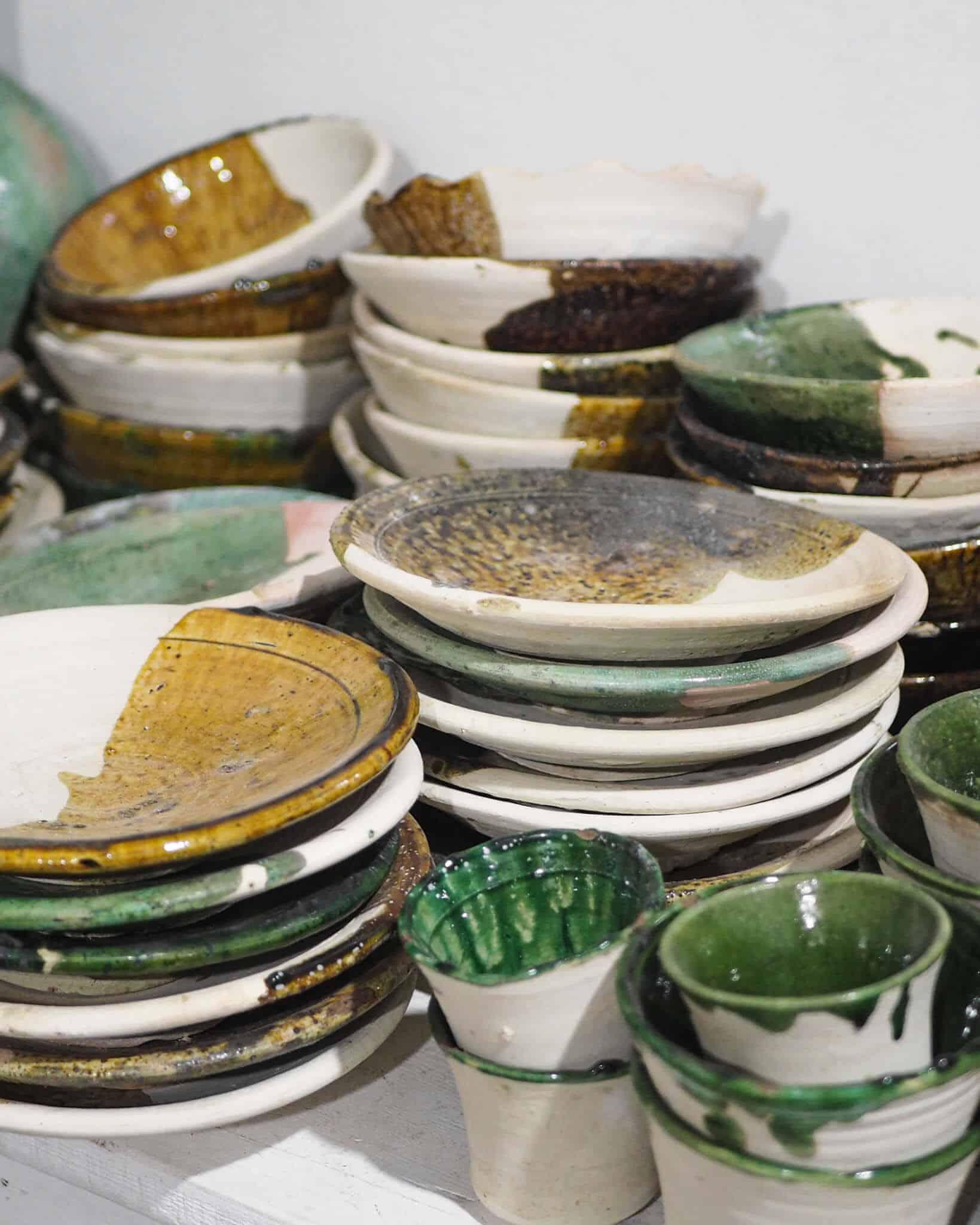 dipped tamegroute ceramics