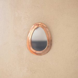 copper moroccan mirror