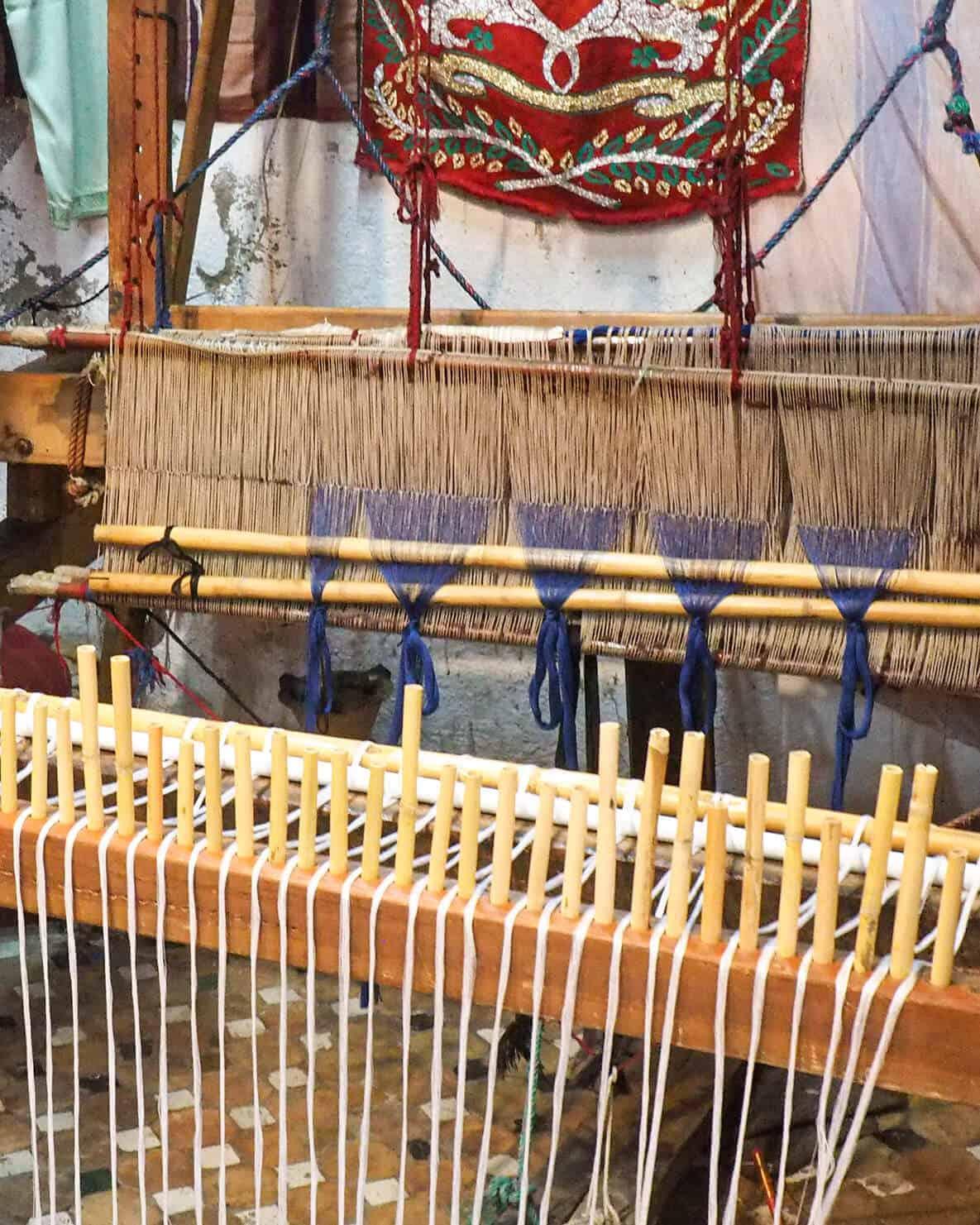 fes textile weaving