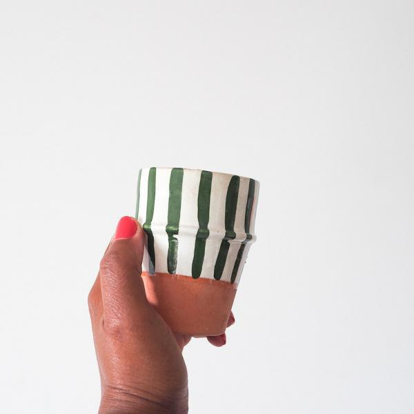 green small cup