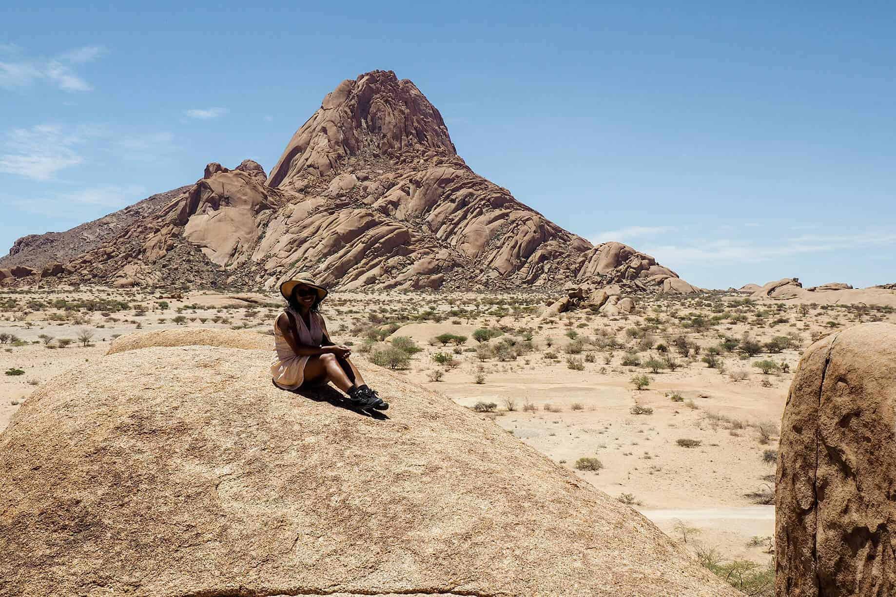 Matterhorn of Namibia