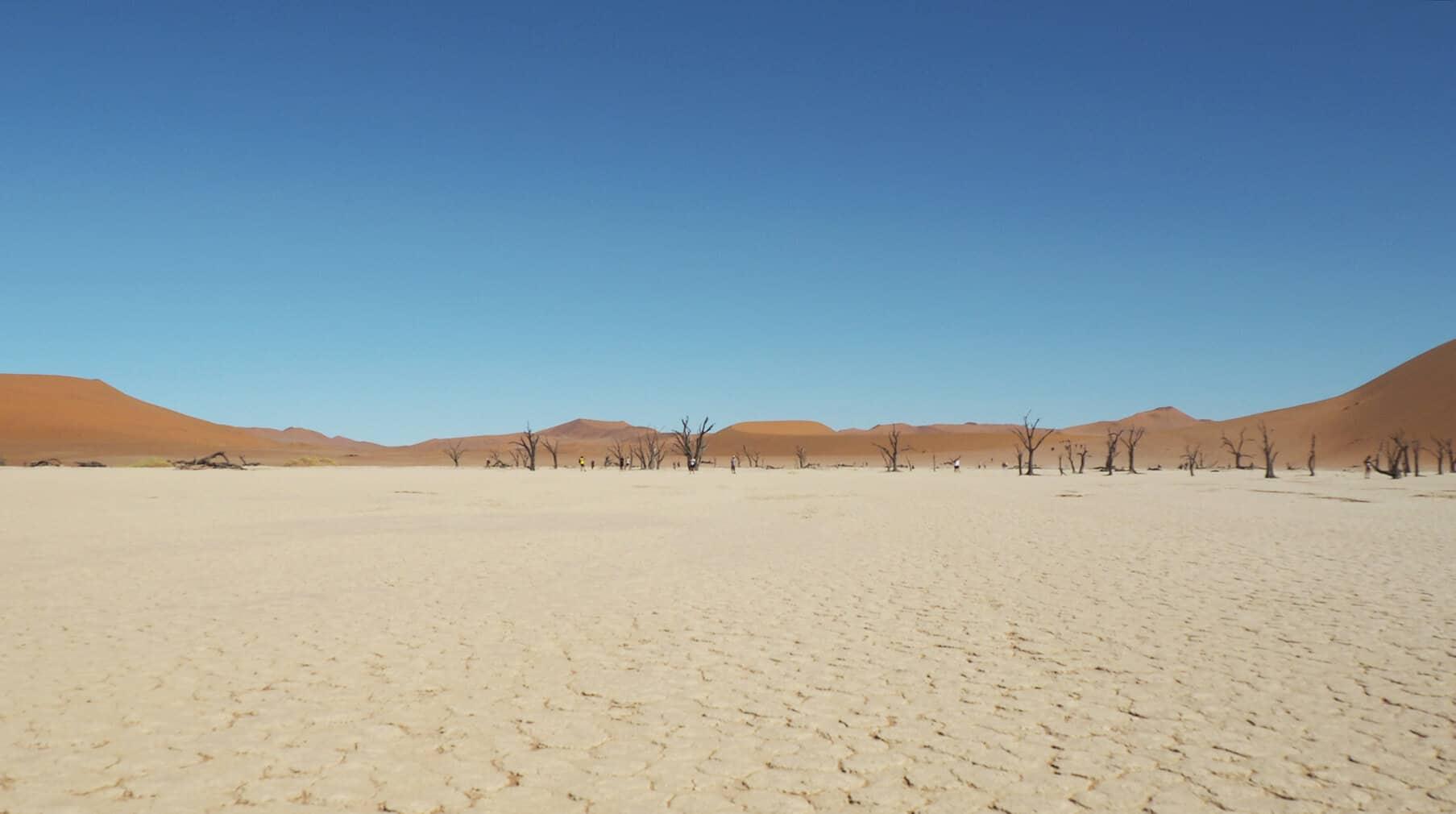 Namibian desert pans