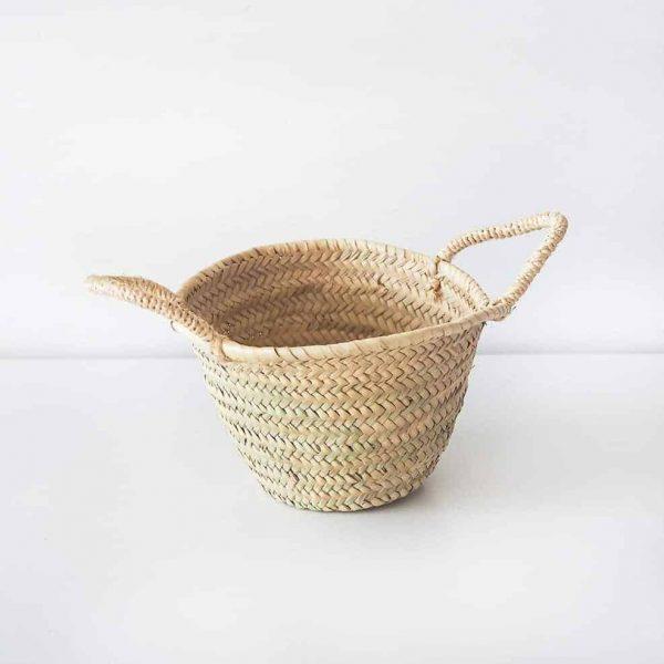 small natural basket