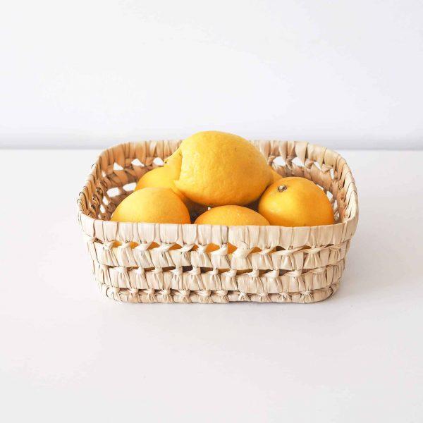 small moroccan basket