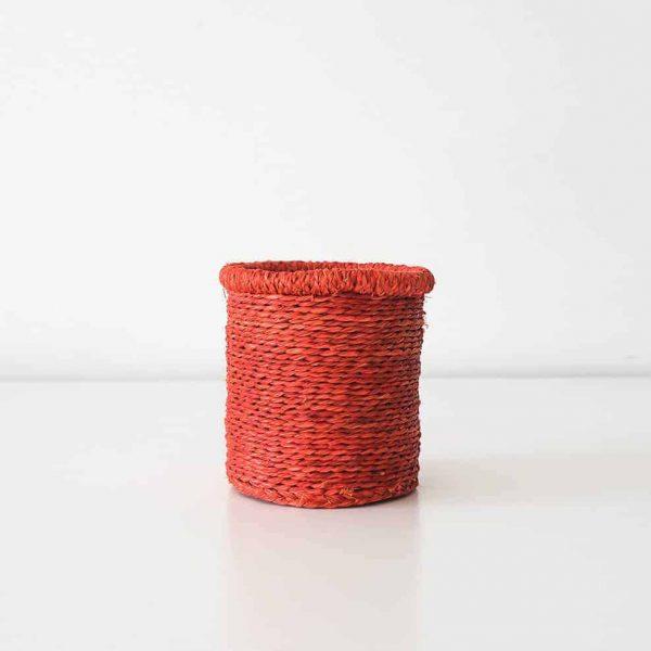 red swazi basket