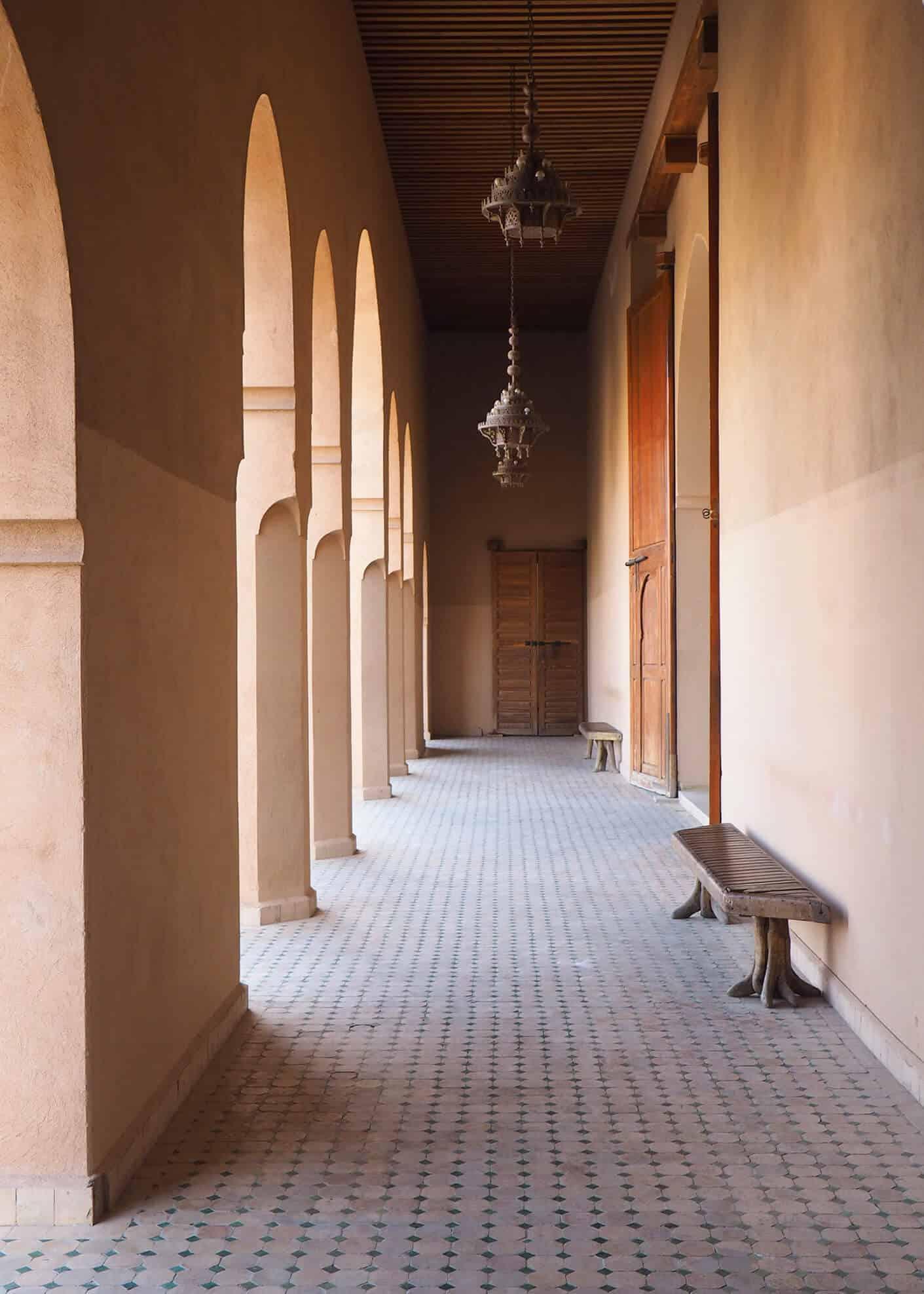 arches at el badii palace