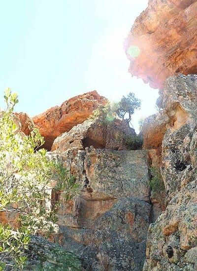 rugged rocks cederberg
