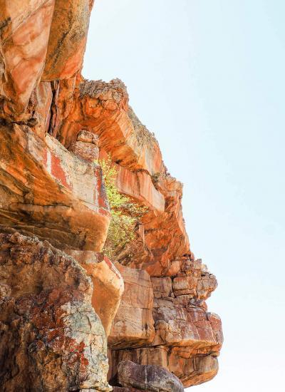 rock forms in cederberg
