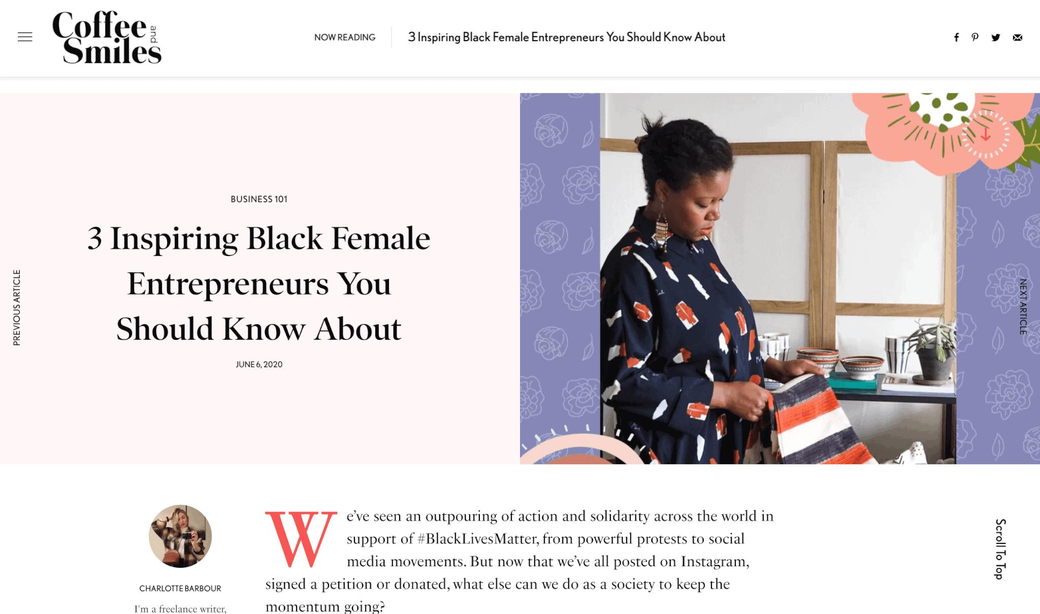 3 inspiring black entrepreneurs