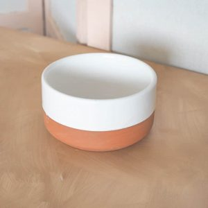 white chabi chic bowl
