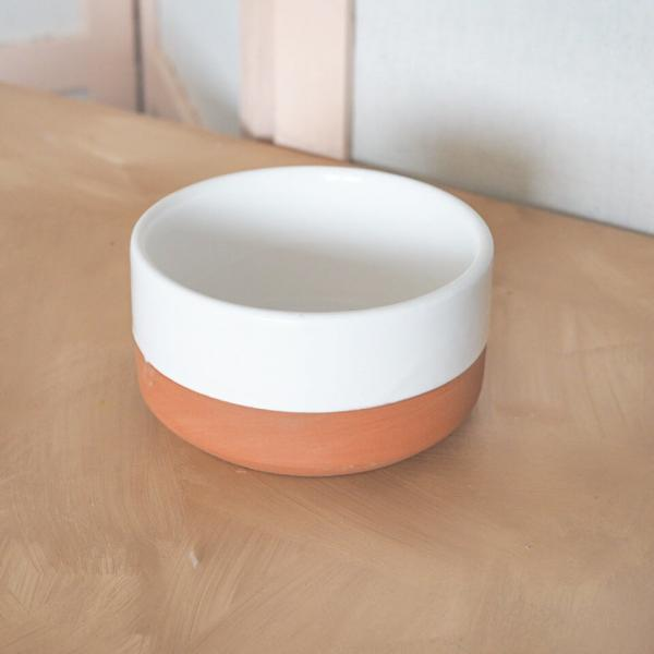 white chabi chic bowl