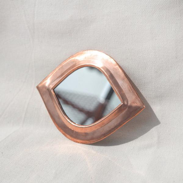 copper eye mirror