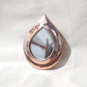 mini copper mirror